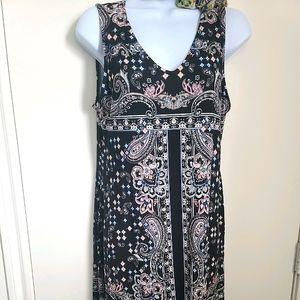 NWT Premise tapestry print shift dress